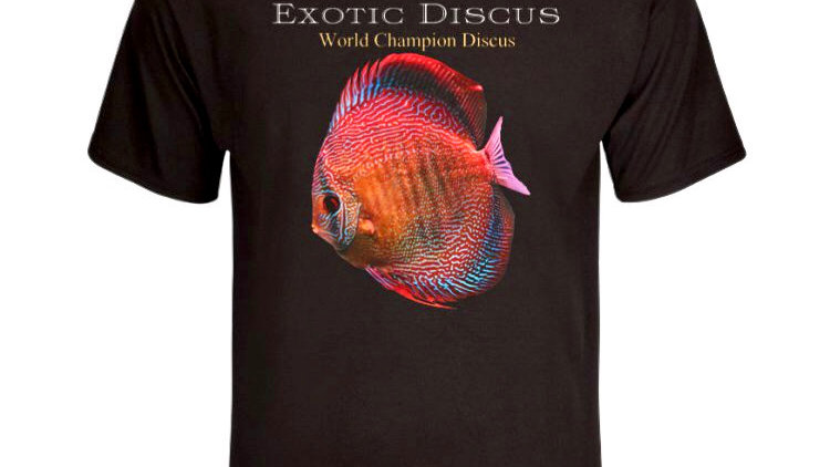 Exotic Discus T Shirt - Please see Description below for FREE Shipping