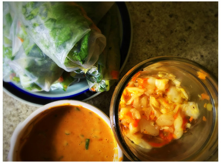 The Rumbly Tummy: Scott's Camper Kimchi in July