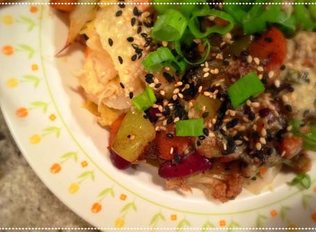 The Rumbly Tummy: Quinoa Kimchi Bowl