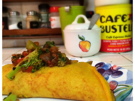The Rumbly Tummy: Chickpea Omelettes