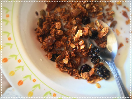 The Rumbly Tummy: One-to-Grow-On Homemade Granola