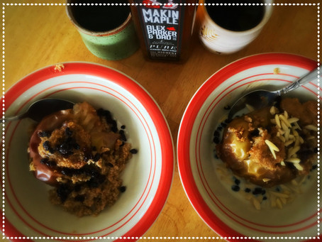 The Rumbly Tummy: Maple Baked Oatmeal Apples (featuring Makin' Maple!)
