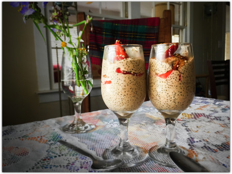 The Rumbly Tummy: 24 Hour Banana Chia Pudding