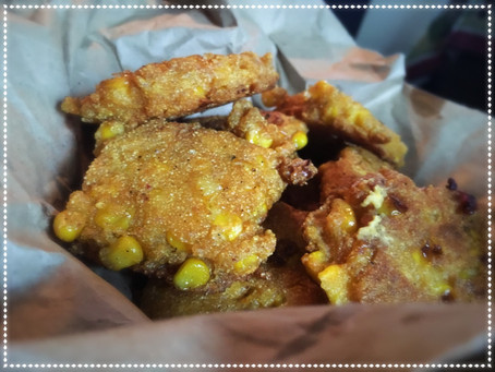 The Rumbly Tummy: Corn Fritters!