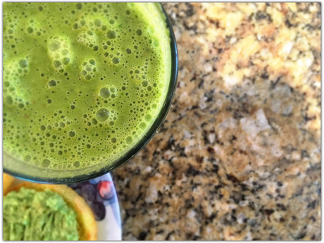 The Rumbly Tummy: Green Smoothies.