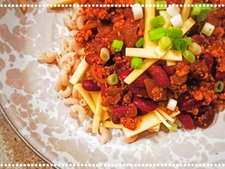 The Rumbly Tummy: Vegan Cincinnati Chili