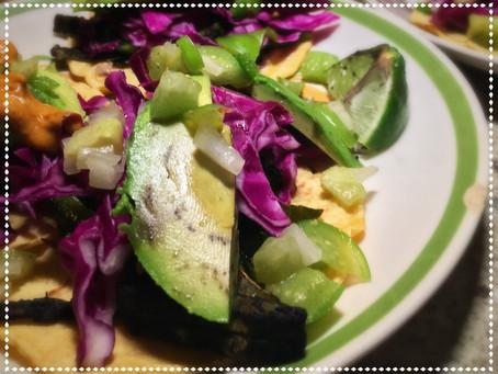 Kickstarter Cactus Tacos! (with a side of tomatillo salsa)