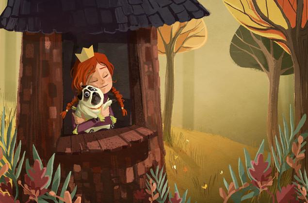 The Princess and the Pug