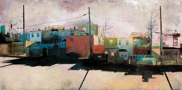 "Charm City, MD- 11.5 x 22"" - Signed"