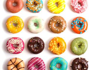 Donut's em Amigurumi