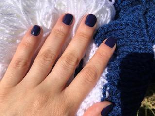 Esmalte da semana: Azul Estrelado
