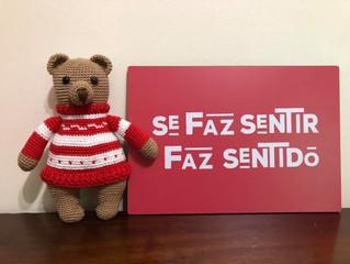 Ursinho de Suéter em Amigurumi