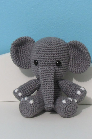 Elefante em Amigurumi