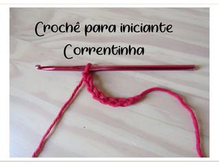Correntinha - Crochê para iniciantes