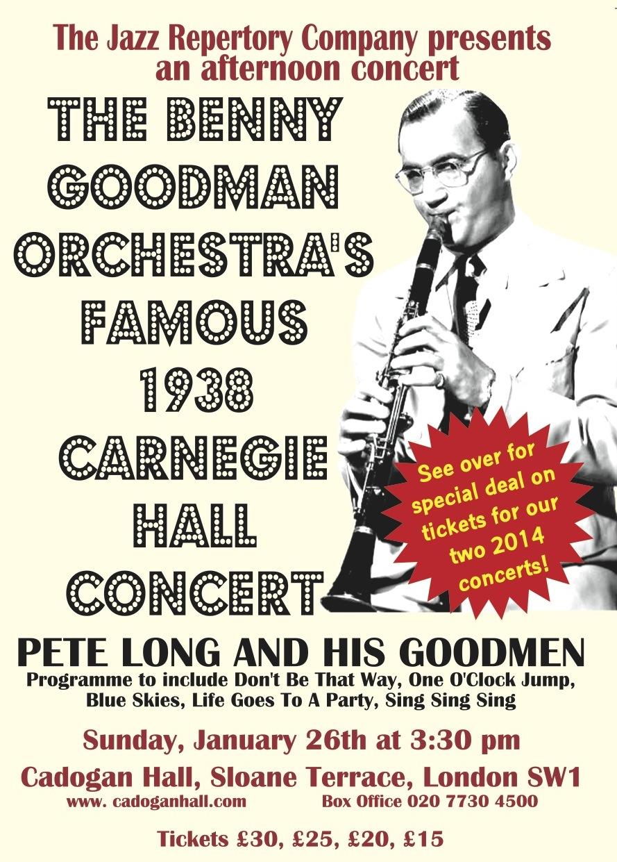 Benny Goodman 1938