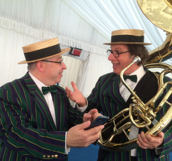 Party Jazz Musicians at Brunel University Graduation