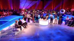 Sousaphones on TV