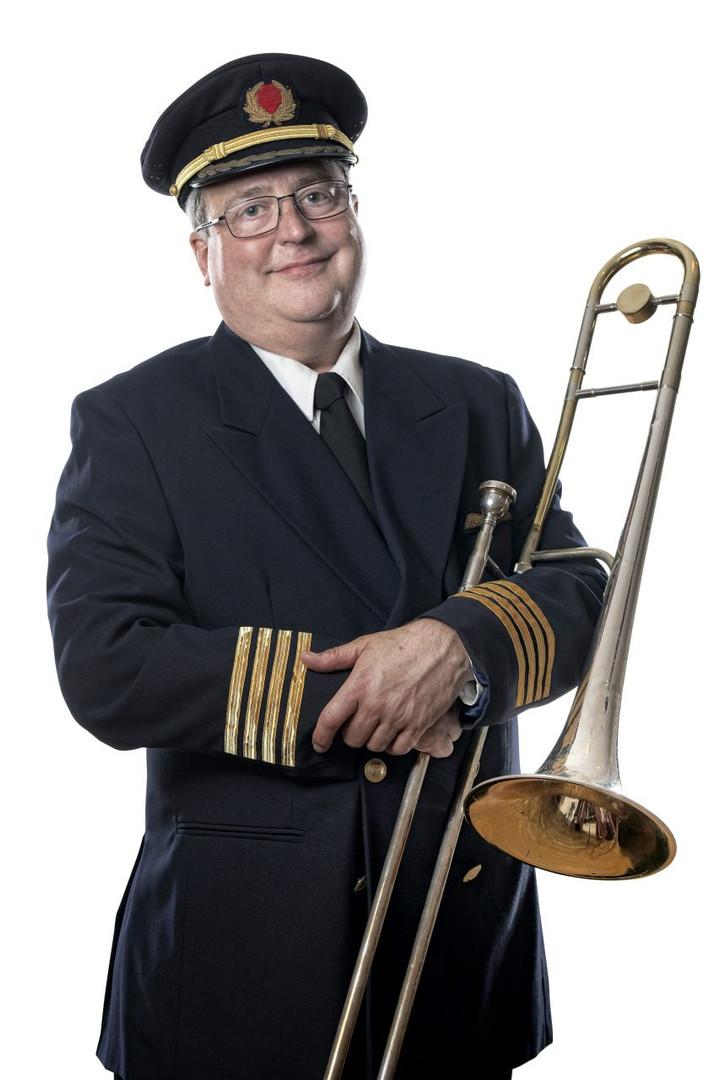 The Captain Blues In Orbit
