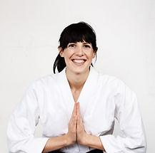 Kobieta Martial Arts Instructor