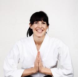 Mujer Instructor de artes marciales