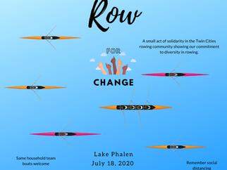 Row 4 Change -- Lake Phalen Gathering, July 18, 2020