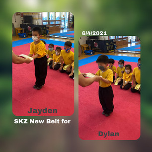 6/4/2021 New Students Jayden and Dylan