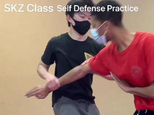 SKZ Class Self Defense Practice