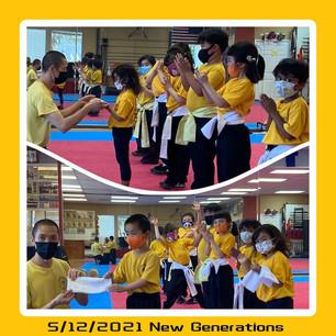 New Generations 5/12/2021