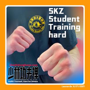 SKZ Student Training Hard