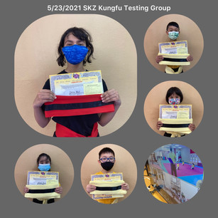 5/23/2021 SKZ Kungfu Online & In-person Testing Group