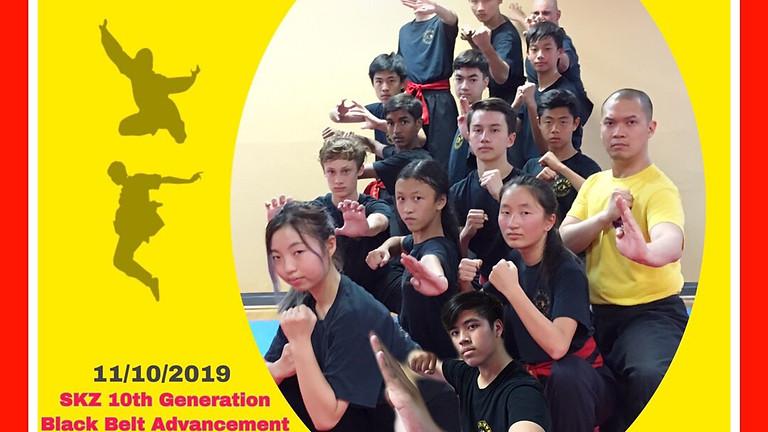 SKZ 10th Generation Black Belt Advancement