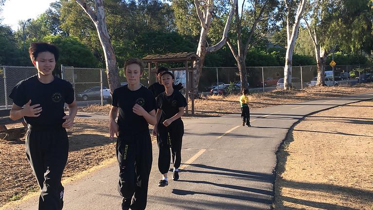 Almaden Lake Jogging Event