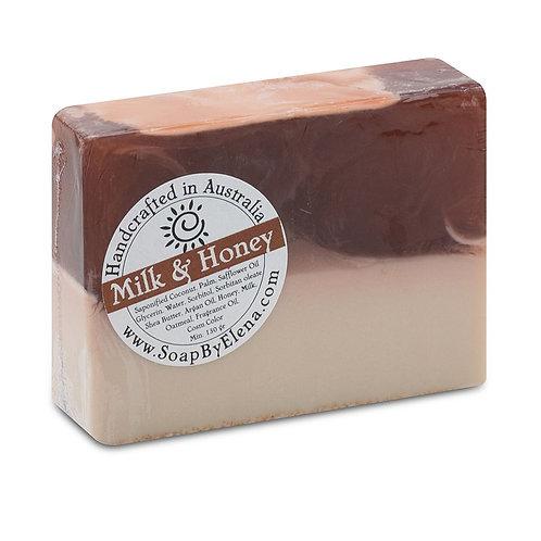 澳洲【SOAP BY ELENA】牛奶蜂蜜 手工養膚皂 130g
