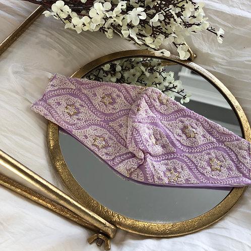 Lavender + Ivory Leaves
