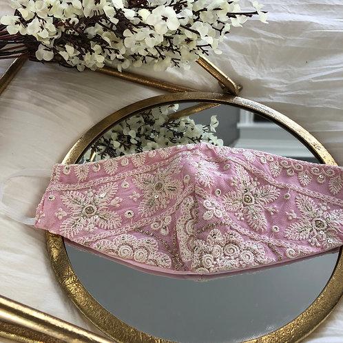 Light Pink + Ivory Floral