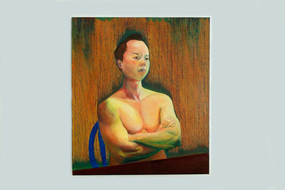 Self-portrait - Feel strong