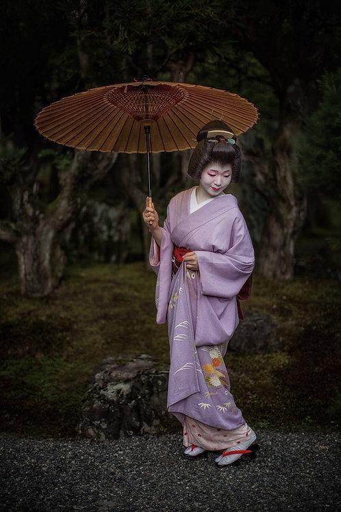 """Geisha Portrait 8"""" x 12"""" Fine Art Photo Print"""