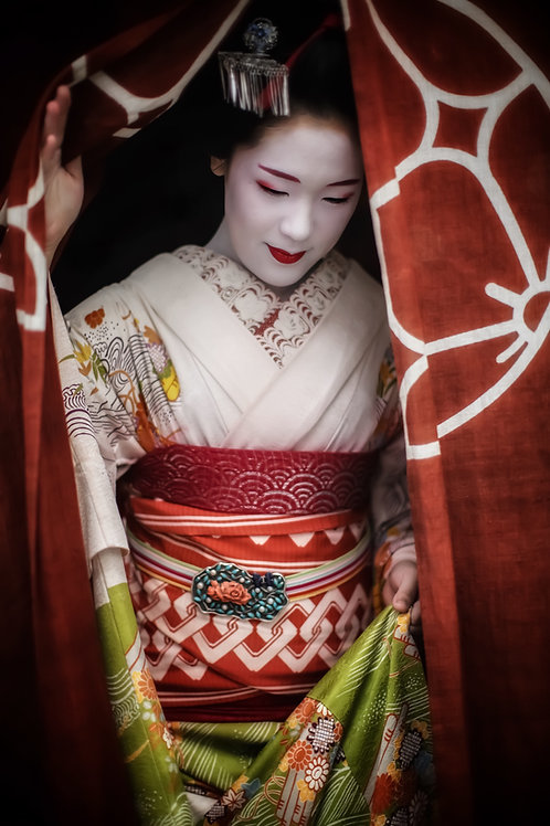 "Enter the Geisha 8"" x 12"" Fine Art Photo Print"