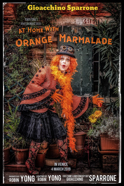 At Home with Orange Marmalade