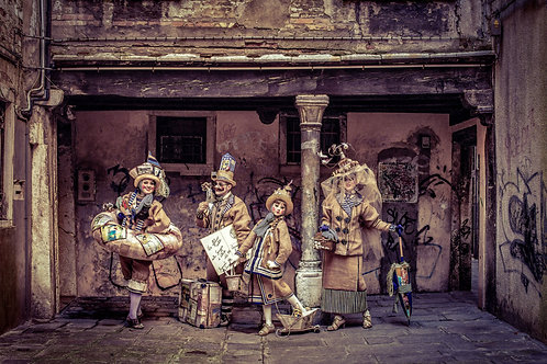 i Bagnanti di Senigallia Fine Art Photo Print