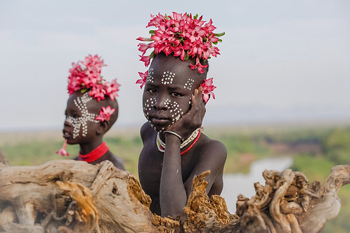 """Bow of the Omo River - Tales of the Omo River series 8"""" x 12"""" Photo Print"""