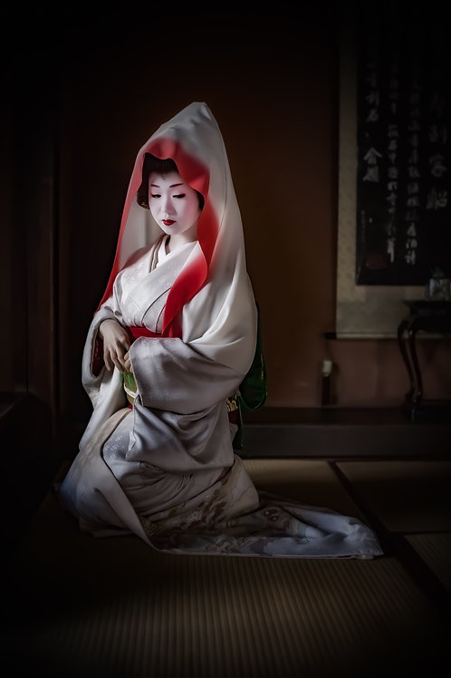 "Geisha Goddess 8"" x 12"" Fine Art Photo Print"