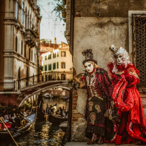 My Fairy Tale Travels in Venice 我の童畫童話