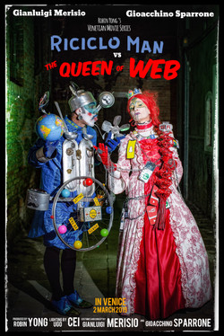 Riciclo Man vs the Queen of Web