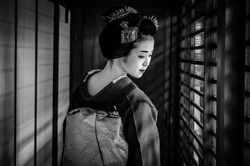 "Maiko San  8"" x 12"" Fine Art Photo Print"