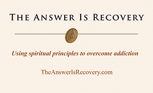 Using spiritual principles to overcome addiction.