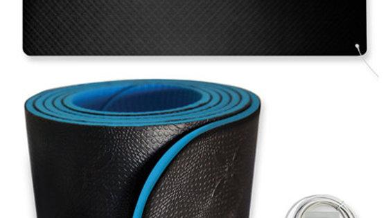 Tapis de yoga et de fitness raccordé à la terre Earthing