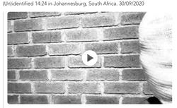 (Un)identified 14:24 in Johannesburg, South Africa. 30/09/2020
