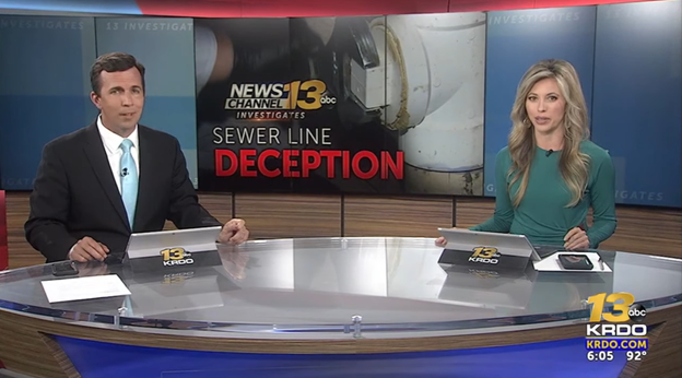 Homeowners conned into paying thousands for unnecessary sewer line repairs
