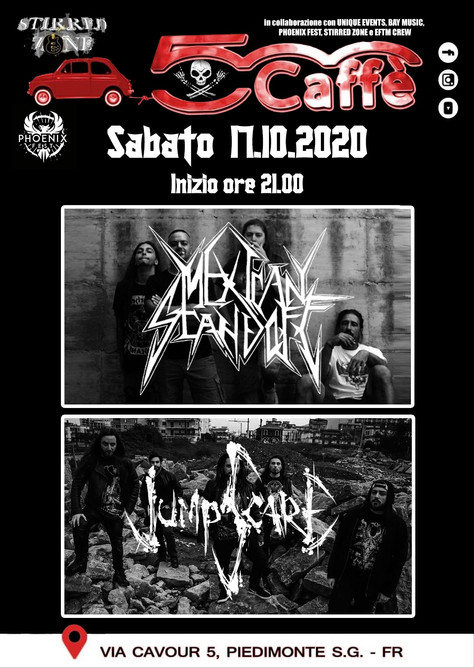 NEW GIG AT 500 CAFFE' LIVE CLUB IN CASSINO